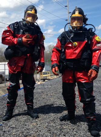 HAZWOPER Certified Dive Team