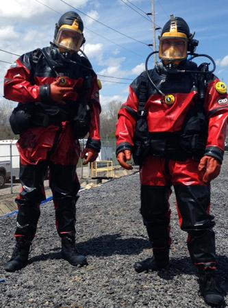 HAZWOPER Certified Dive Team