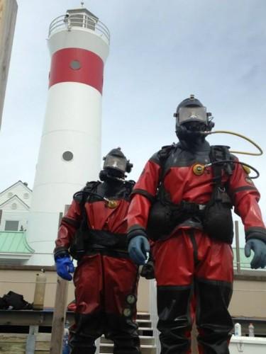 Our intrepid dive team!