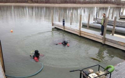 Lake Erie Boat Dock Cleaning